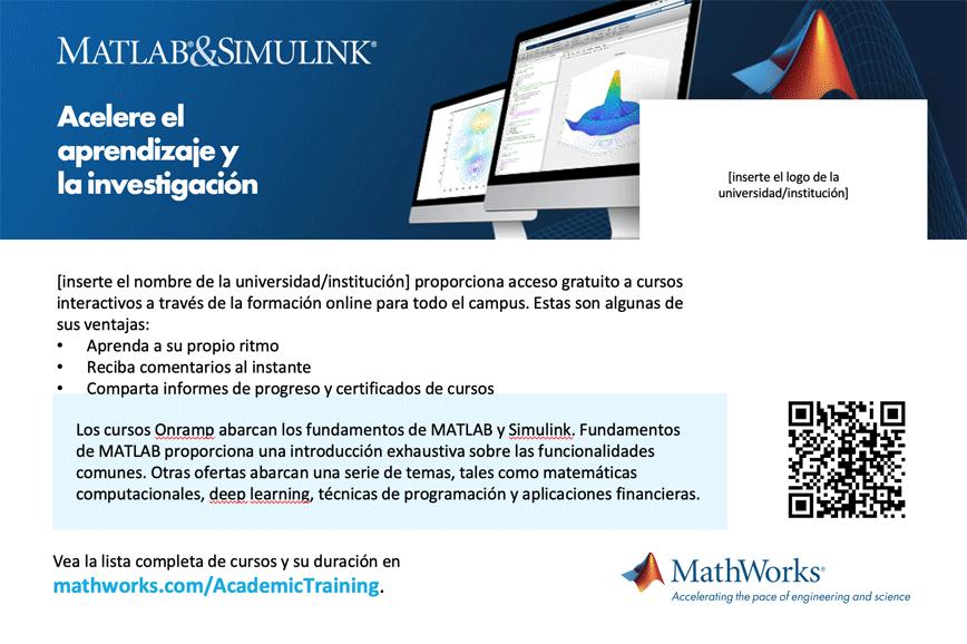 Plantilla de postal de formación online de la infraestructura Campus-Wide License 4 x 6