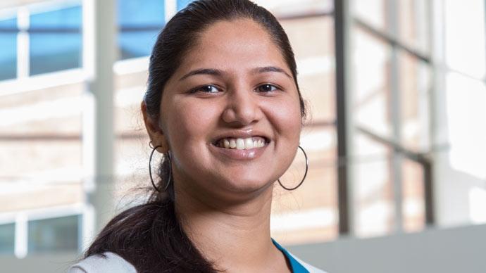 Shraddha, ingeniera de software sénior