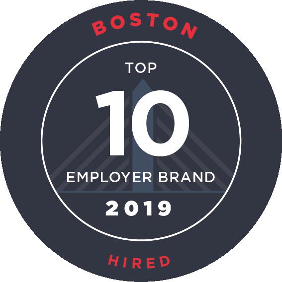 Hire's Top 10 Boston Employer Brands