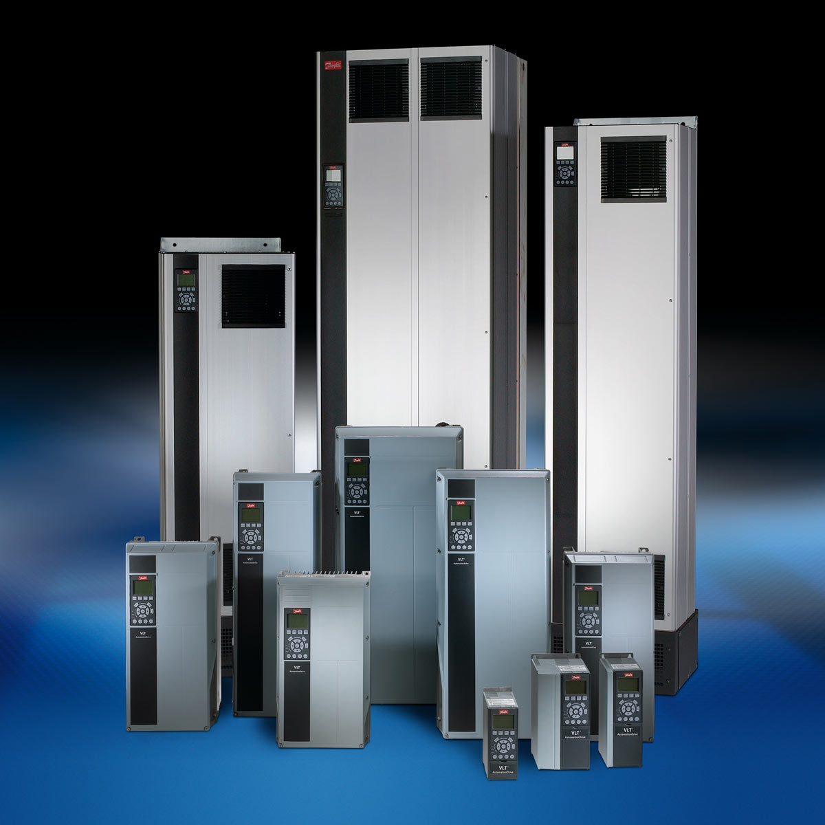 The Danfoss VLT® AutomationDrive FC302.