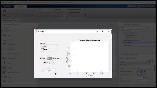 Create modern, professional-looking apps in MATLAB with App Designer, even if you're not a professional software developer.