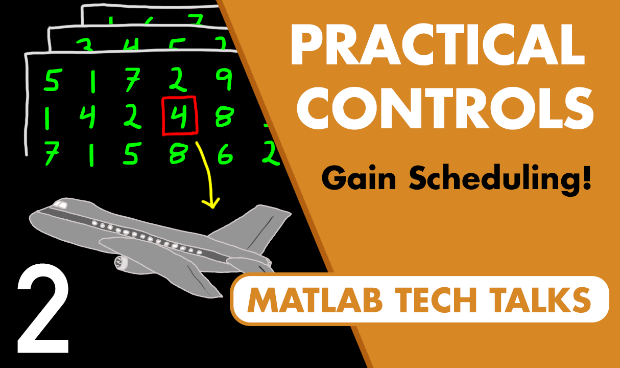 Often, the best control system is the simplest. This video provides an overview of gain scheduling—a method that adjusts the gains of simple linear controllers to control nonlinear systems.