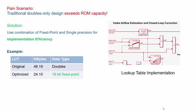 Learn best practices for converting your designs to single precision or fixed point and see a demonstration of a design and implementation workflow using a simple laser detection example.