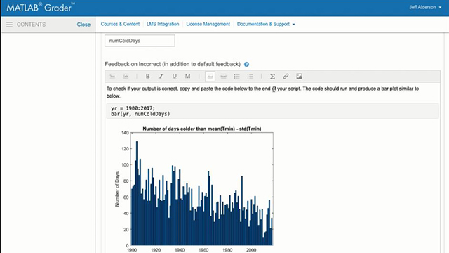 Matlab Grader Overview Video Matlab