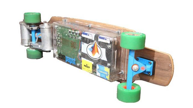 HS Bochum Students Design and Build a Motor Controller for an E-Longboard with Model-Based Design