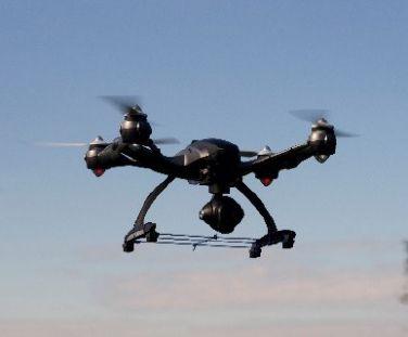 Sensor de LiDAR aéreo.
