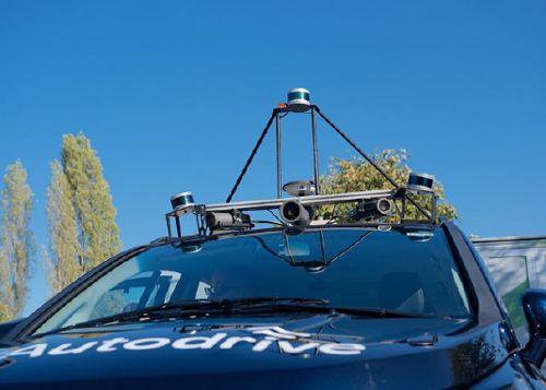 Sensor de LiDAR móvil.