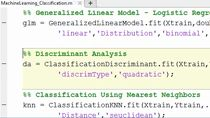 Descubra cómo utilizar las herramientas de Machine Learning de MATLAB para resolver problemas de regresión, agrupación y clasificación.