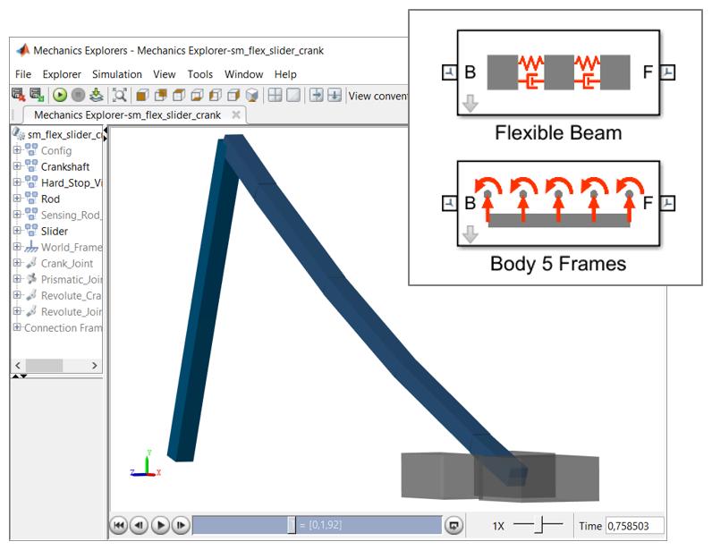 Flexible Body Models in Simscape Multibody - File Exchange - MATLAB ...