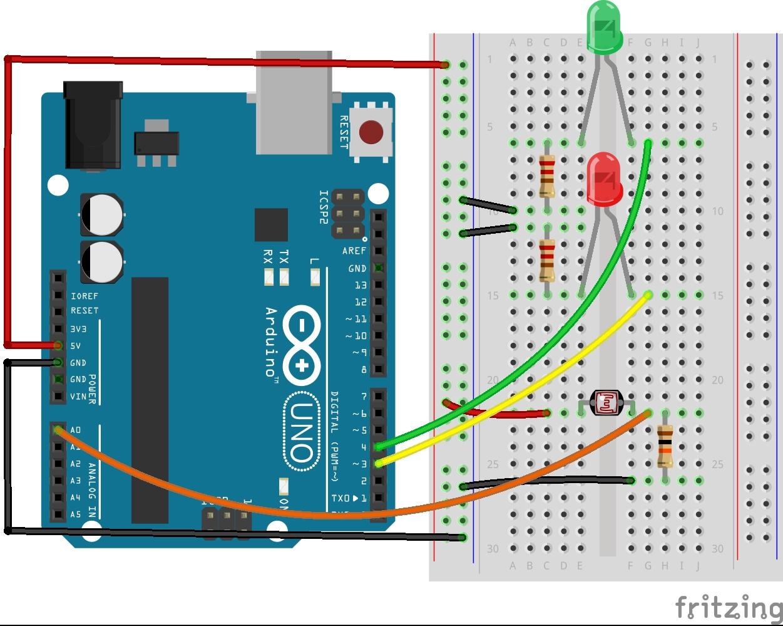 Data Logger On Arduino Uno File Exchange Matlab Central Circuit Diagram Of Ldr Image Thumbnail