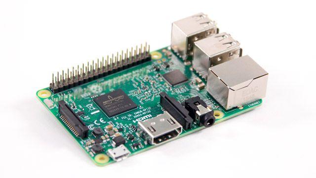 Placa Raspberry Pi 3.