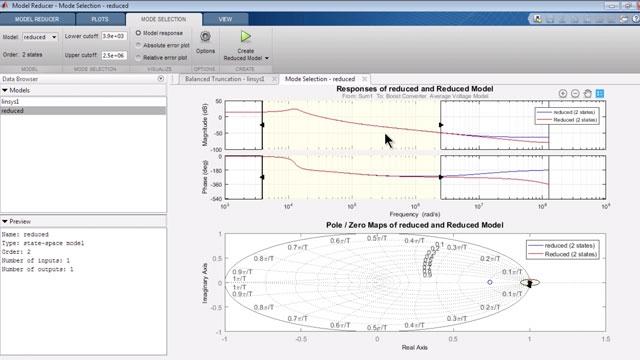 Aproxime un modelo de Simulink no lineal con un modelo lineal de orden bajo.