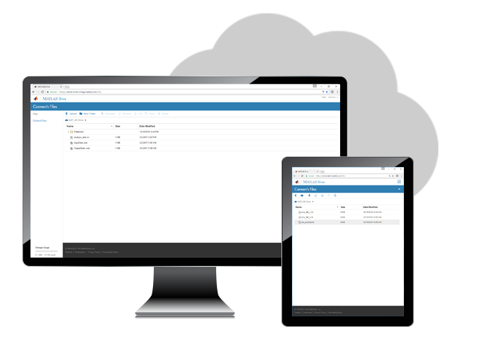 Gestione sus archivos en la nube desde varios dispositivos y productos