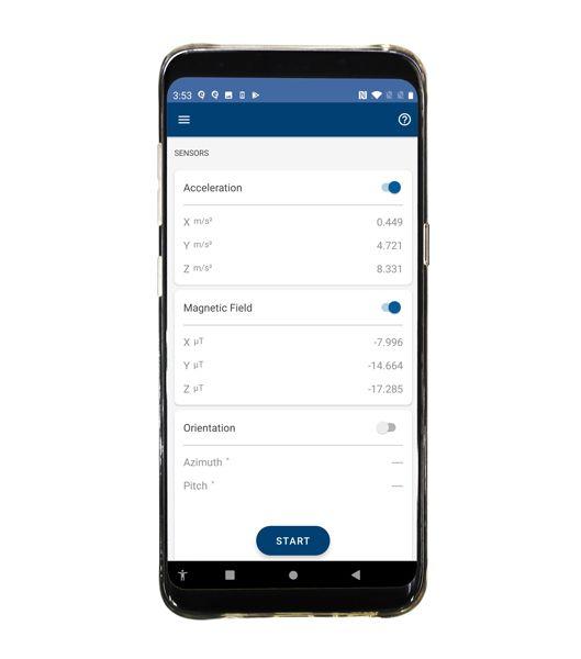 Sensores de MATLAB Mobile