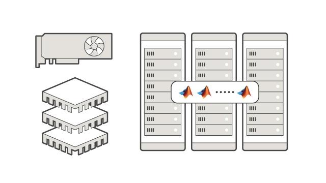 Ejecución en CPUs y GPUs en varios nodos de cálculo.