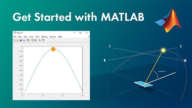 Comience a utilizar MATLAB a través de un ejemplo. En este vídeo se muestran los aspectos básicos para que se haga una idea de cómo es trabajar con MATLAB.