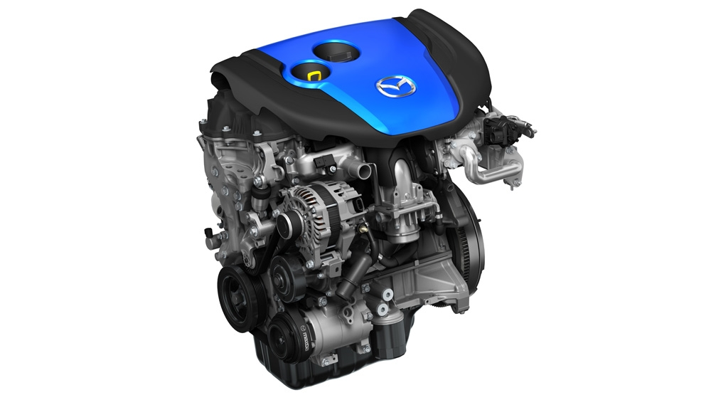 Motor SKYACTIVE-D de Mazda.