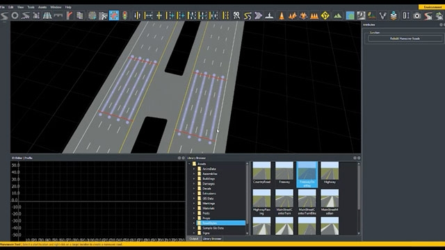 Aprenda a crear intersecciones personalizadas en RoadRunner con Custom Junction Tool.