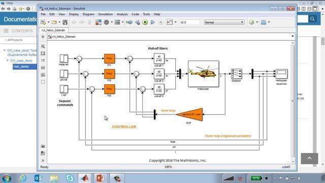 Este webinar proporciona una visión general sobre el flujo de trabajo para el desarrollo de sistemas que cumplen los requisitos de certificación del sector aeroespacial.  El flujo de trabajo se demuestra mediante un ejemplo de un sistema de control de vuelo de un helicóptero.