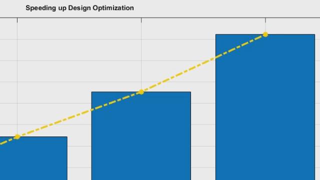 Mejora del rendimiento de las tareas de optimización de diseños mediante funcionalidades como Simulink