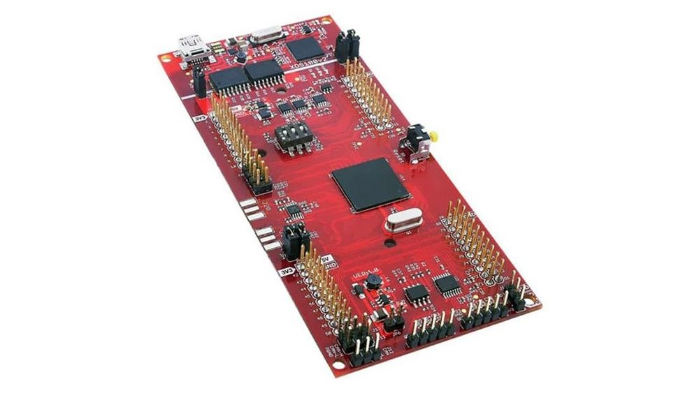 Despliegue de aplicaciones de software en TI Delfino F28379D LaunchPad.