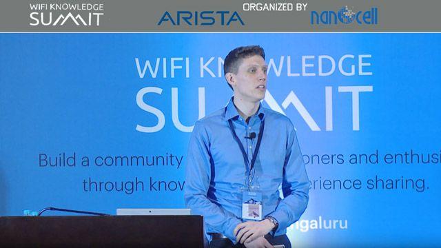 Charla de Colin McGuire en la WiFi Knowledge Summit sobre el modelado del estándar IEEE 802.11ax