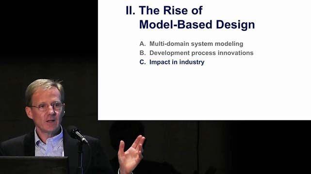 Jack Little, presidente y cofundador de MathWorks, habla sobre el impacto del diseño basado en modelos en la industria y la comunidad académica.