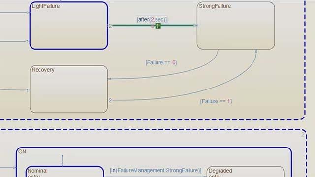 Breve tutorial para aprender a usar Stateflow y crear máquinas de estado.