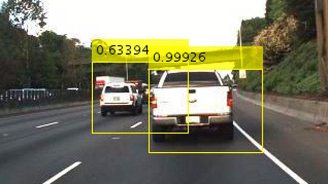 Detección de objetos mediante Faster R-CNN.