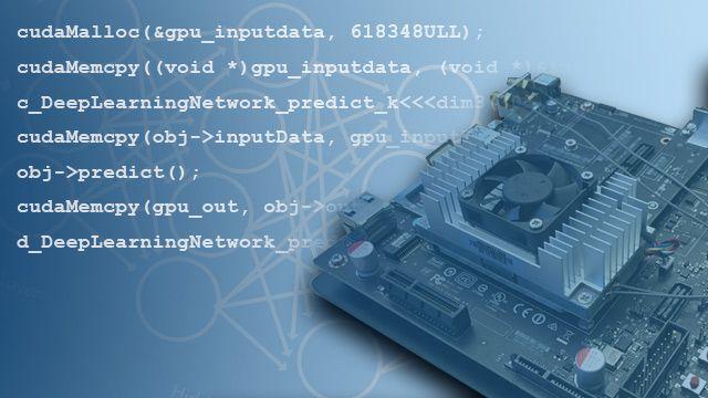 Genere código CUDA a partir de código MATLAB para GPU NVIDIA.