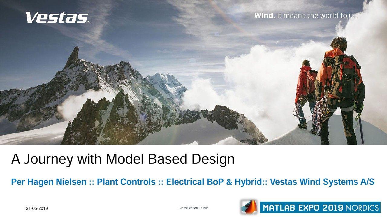 Soluciones de centrales eléctricas híbridas de Vestas: Un viaje con el diseño basado en modelos