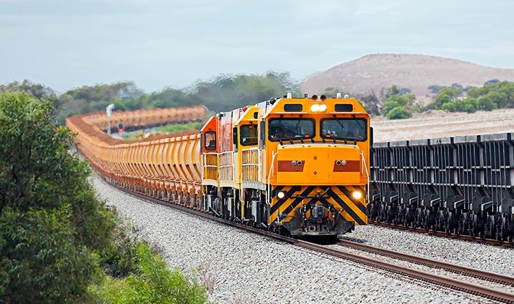 Tren de mineral de hierro