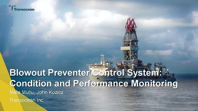 Transocean supervisa el rendimiento de un ariete de tubería submarino antiexplosiones en Simscape con modelos adaptativos basados en la física, procesamiento de señales y análisis de datos periféricos.