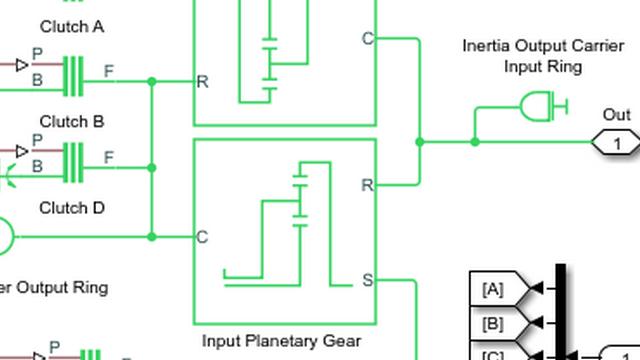 Tutorial: Ejecución y modificación de un modelo de tren de potencia simple