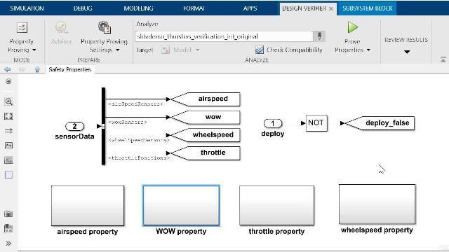 Aprenda a demostrar propiedades con Simulink Design Verifier y vea cómo depurar un contraejemplo generado automáticamente con la herramienta Model Slicer de Simulink Check.