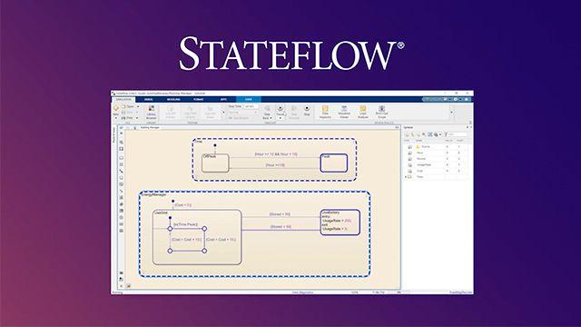 Aprenda los conceptos básicos de Stateflow mediante un ejemplo. También descubrirá que Stateflow es solo una parte del diseño basado en modelos para modelar, simular, probar e implementar sistemas del mundo real.
