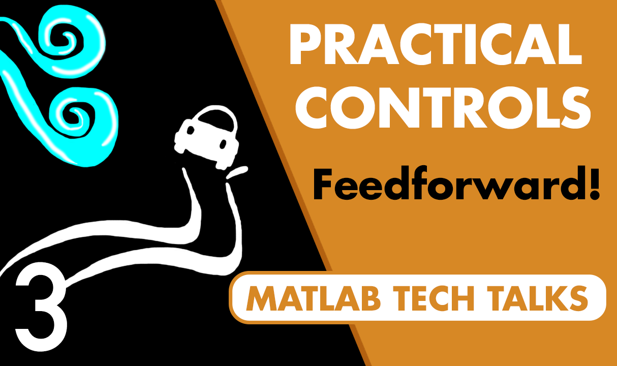 A control system has two main goals: get the system to track a setpoint, and reject disturbances. Feedback control is pretty powerful for this, but this video shows how feedforward control can supplement feedback to make achieving those goals easier.