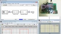 In this webinar you will learn how to design and implement a PID controller when a plant model is not available. Through a DC motor control example, you will learn how to: Apply input signals (voltage) to the motor and collect output (angular positio