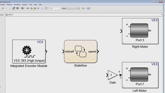 Learn to autonomously control the motion of your VEX robot in a pre-defined path using wheel encoders.