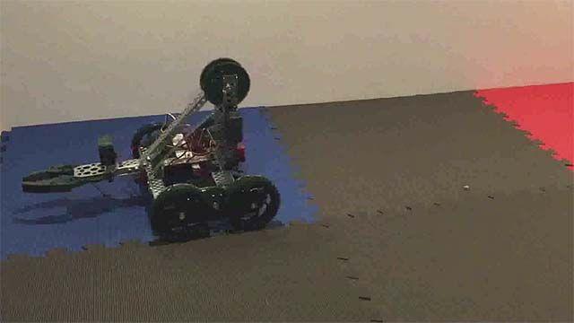 Using Stateflow to design simple autonomous motion for VEX-based mobile robots.