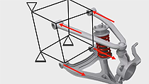 Christoph Hahn, technical education specialist at MathWorks, introduces you to an efficient approach to determine structural properties of a steel tube frame using the direct stiffness method.