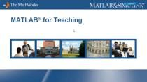 Loren Shure, Ph.D., a principal developer at The MathWorks, discusses the use of MATLAB in curriculum and shows demonstrations from a real course on mathematical modeling that includes math and visualization as common denominators for MATLAB users. F