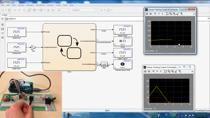 Dans ce webinar, vous apprendrez comment, en menant une démarche de l'ingénieur, concevoir votre système à l'aide de Simulink et Stateflow et l'exécuter sur la cible matérielle Arduino.